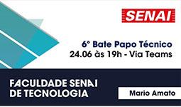 Participe do Bate papo Técnico da Faculdade SENAI