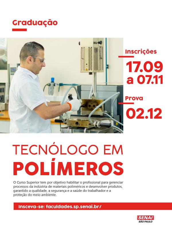 Graduação Tecnólogo em Polímeros